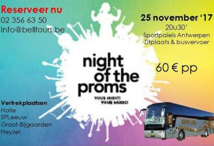 Bell Tours busreizen • Night of the Proms