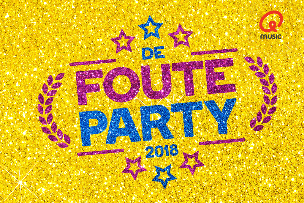 Foute Party Qmusic • 29 juni 2018
